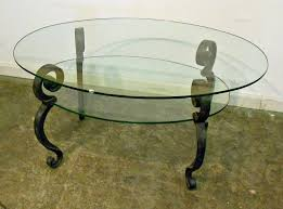 ... Table : Modern Oval Glass Coffee Table Midcentury Large The Most  Stylish As Well As Gorgeous ...