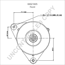 66021605 front dim drawing