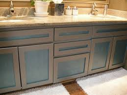 Fascinating Refacing Bathroom Cabinets In Best References Home