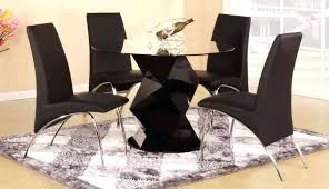 full size of modern 48 round dining table 42 4 chair black high gloss clear glass