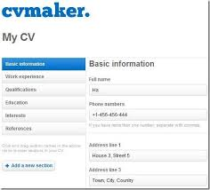Making A Resume Online How To Make 10 Tools Create Impressive 14