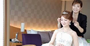 前髪アリ前髪ナシおしゃれ花嫁さんのヘアアレンジまとめ