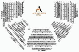 Apollo Theater Seating Chart 47 Hand Picked Oriental Theatre Seating Map