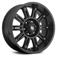Set of 4 Wheels) LRG Rims 102, 20x9 with 6 on 5.5 Bolt Pattern ...