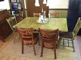 antique distressed solid wood dining table distressed solid wood country kitchen table