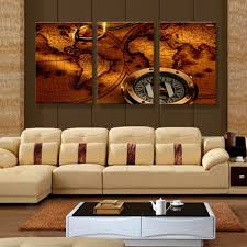 Living Room Paintings Art Online Shop Art Paintings On The Wall World Map Canvas Painting