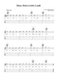 This product is available worldwide. Mary Had A Little Lamb Easy Guitar Sheet Music And Tab With Chords And Lyrics