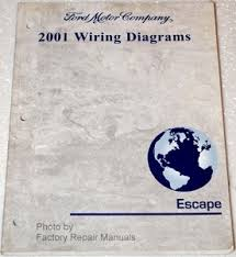 2001 ford escape electrical wiring diagrams original manual 2001 ford escape electrical wiring diagrams original manual