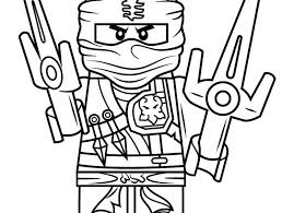 Lego Ninjago Coloring Pages Lloyd Movie Free Printable Games Cartoon