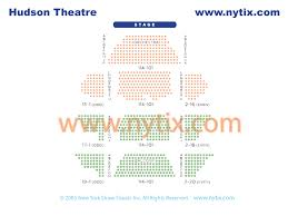 Big Brother Seating Chart Hudson Theatre On Broadway In Nyc