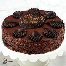 Chocolate Mousse Torte Happy Birthday Cake Amazoncom Grocery