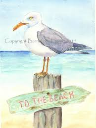 Image result for august beach animated