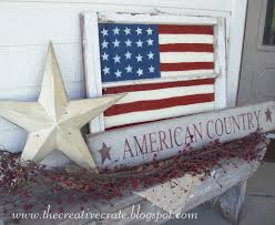 Wooden Window Frame Crafts Painted Flag Window Tutorial U Create