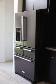 kitchenaid appliances black stainless. kitchenaid black stainless steel 5 drawer refrigerator kitchenaid appliances