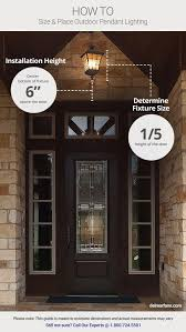 front door lightOutdoor Lighting Ideas  Tips Add Curb Appeal with Front Door