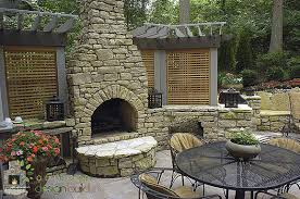 ... Build A Fire Pit With Retaining Wall Blocks Awesome Cincinnati Outdoor  Fireplace ...