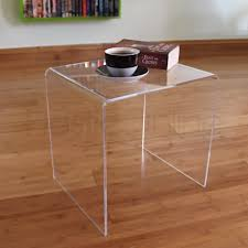 ... Occasional Side Tables Furniture Clear Side Table ...