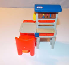 Little Tikes Bedroom Furniture Vintage Little Tikes Tykes Dollhouse Workbench Tool Bench Two Red