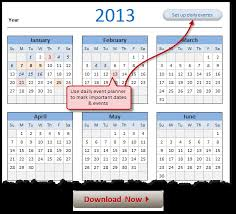 Calendar 2013 Template Free 2013 Calendar Download And Print Year 2013 Calendar