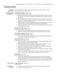 ... Objective for Customer Service Representative Resume Elegant Objective  In Resume for Customer Service Representative ...