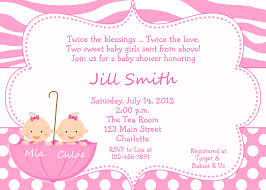 Twin Baby Shower Invite  THERUNTIMECOMTwin Baby Shower Favors To Make