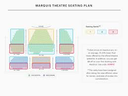 Richard Rodgers Theatre Large Broadway Seating Charts