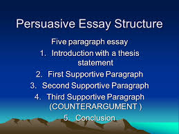 persuasive essay structure ppt video online  persuasive essay structure