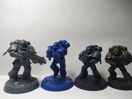 Space Marine Height Chart Size Comparison Of A Primaris Marine A Space Marine Hero A