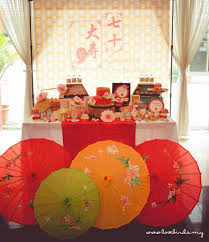 kara39s party ideas asian inspired 70th birthday party