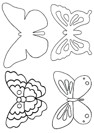 Butterfly Patterns Printable Magnificent Decorating Ideas