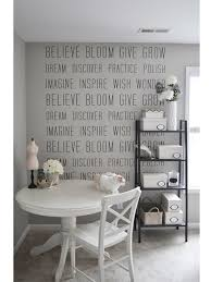 >i love kate s new office decal the small things blog i want an  office makeover with wallums wall decals