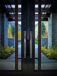 image by decorative hardware modern double entry doors contemporary front with glass door
