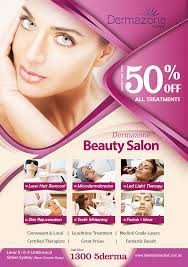 Entry 39 By Wlwind For Design A Flyer For A Beauty Salon