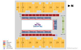 El Paso County Coliseum Seating For Disney On Ice Elcho Table