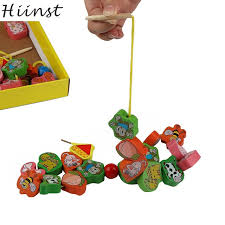 Wooden Bead Game HIINST MallToy 100 New Kids Animal Bead Game Early Childhood 57