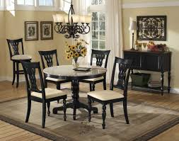 hilale embassy round pedestal table with granite top