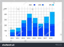 Stock Market Graph Bar Chart 2d Backgrounds Textures