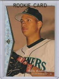 This is card #581 in a set of 609 cards. Alex Rodriguez Upper Deck Sp Silver Rookie Card Seattle Mariners Baseball Arod Ebay