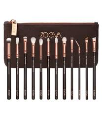 zoeva rose gold plete eye makeup brushes vol 1 set of 12 zoeva rose gold plete eye makeup brushes vol 1 set of 12 at best s in india