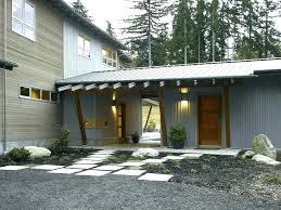 exterior siding ideas metal exterior siding for houses corrugated metal siding exterior contemporary with overhang kids