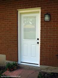 exterior door with blinds. exterior door with blinds i75 in spectacular home designing ideas 6