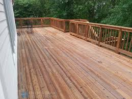 Deck Over Wood Stain Deck Design And Ideas