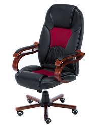 sentinel foxhunter computer executive office desk chair pu leather swivel oc02 black new