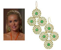 season finale curacao stella dot garden party earrings