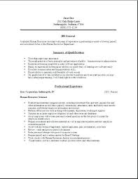 Resume Objective General Best General Resume Sample Resume Ideas