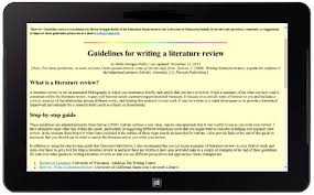 creative writing degree useless  Description of literature review     SlideShare