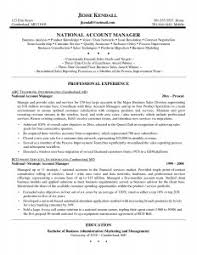 Cover Letter Sample Resume Of A Key Account Manager Save Resumes Key
