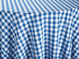 large round pvc tablecloths full size of blue gingham tablecloth navy plastic checd fabric table linen