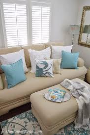 coastal cote summer living room