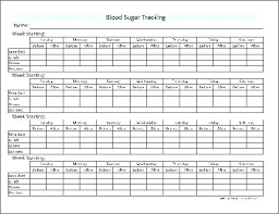 Blood Test Chart Template Diabetes Test Log Sheet Template Excel Club On Blood Sugar